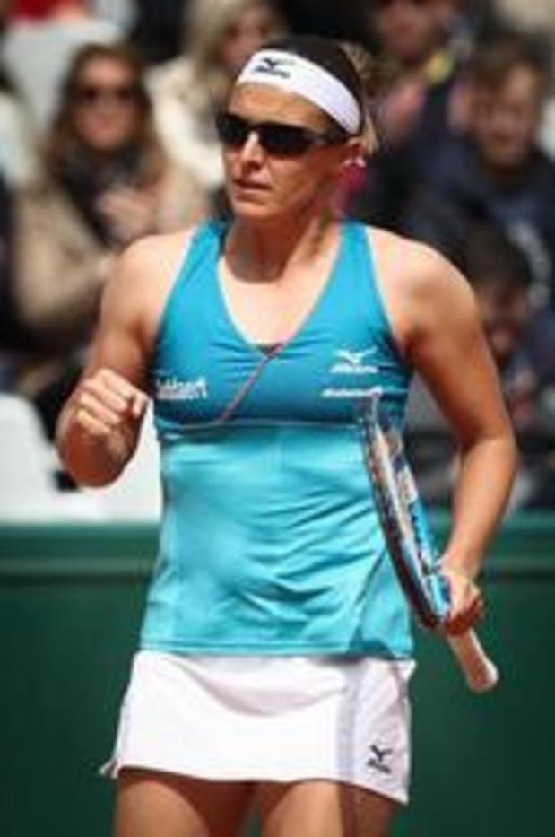 Kirsten Flipkens stoot door naar dubbelfinale WTA Eastbourne