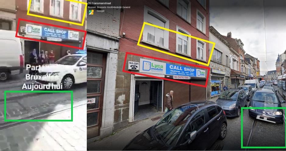 Factcheck: ja, Brusselse politie gebruikte luidsprekers om mensen te informeren over vliegtickets naar Marokko