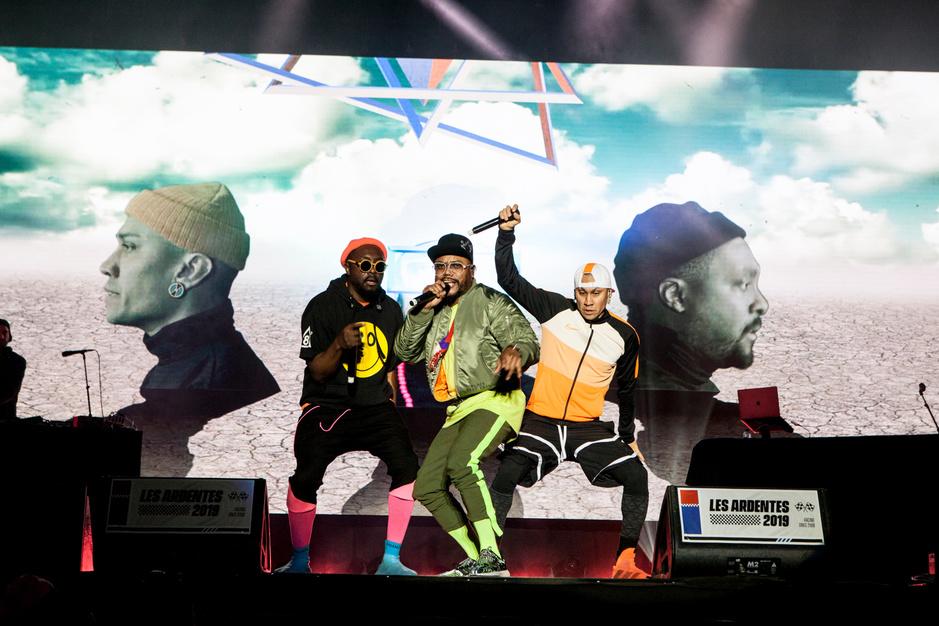Les Ardentes J2: les photos de Black Eyed Peas, Roméo Elvis... par Olivier Donnet