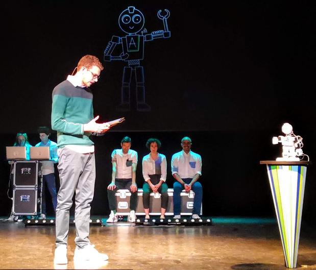 Improvisatietheater met robots gaat in première
