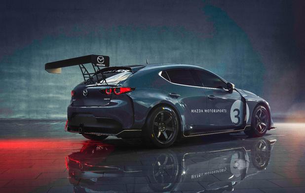 Mazda 3 TCR is raceklaar