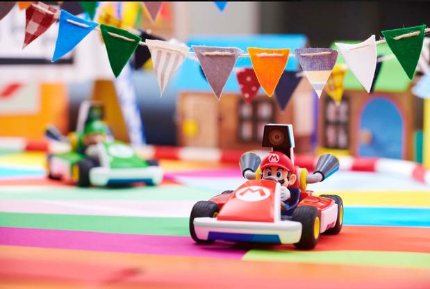 Home Edition, l'ingénieux jeu Switch en réalité mixte — Mario Kart Live