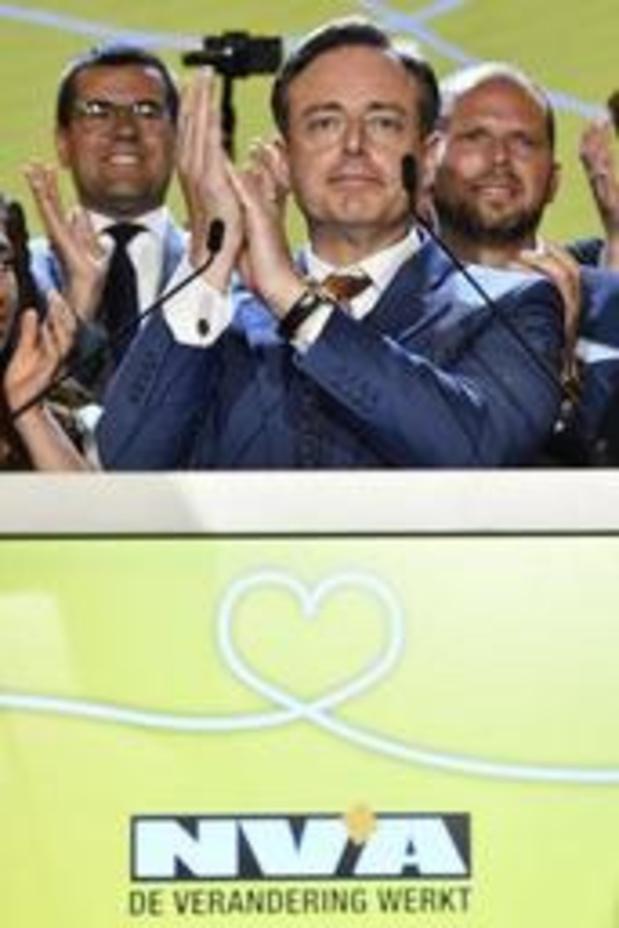 Verkiezingen19 - VLAAMS: De Wever haalt meeste voorkeursstemmen voor Vlaams parlement
