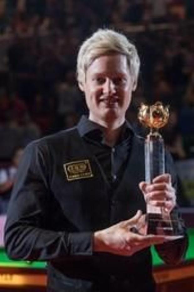 Neil Robertson s'impose pour la deuxième fois à Pékin