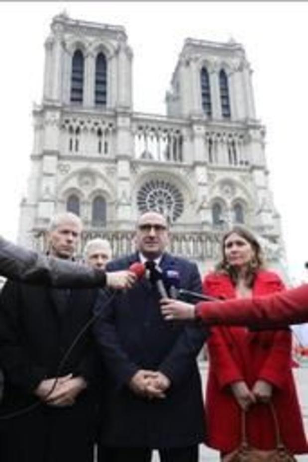 """Incendie à Notre-Dame de Paris: des """"vulnérabilités"""" ont été identifiées au niveau de la voûte"""