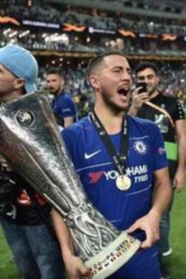 Eden Hazard élu meilleur Joueur de l'Europa League 2018/2019