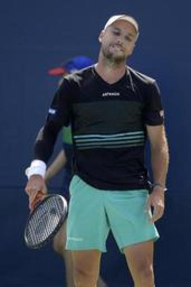Steve Darcis éliminé en trois sets par le Serbe Dusan Lajovic au premier tour