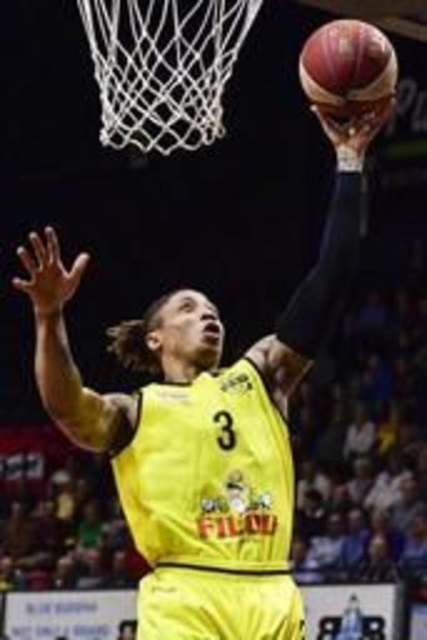 Euromillions Basket League - Oostende voorlopig weer leider na ruime zege in Luik