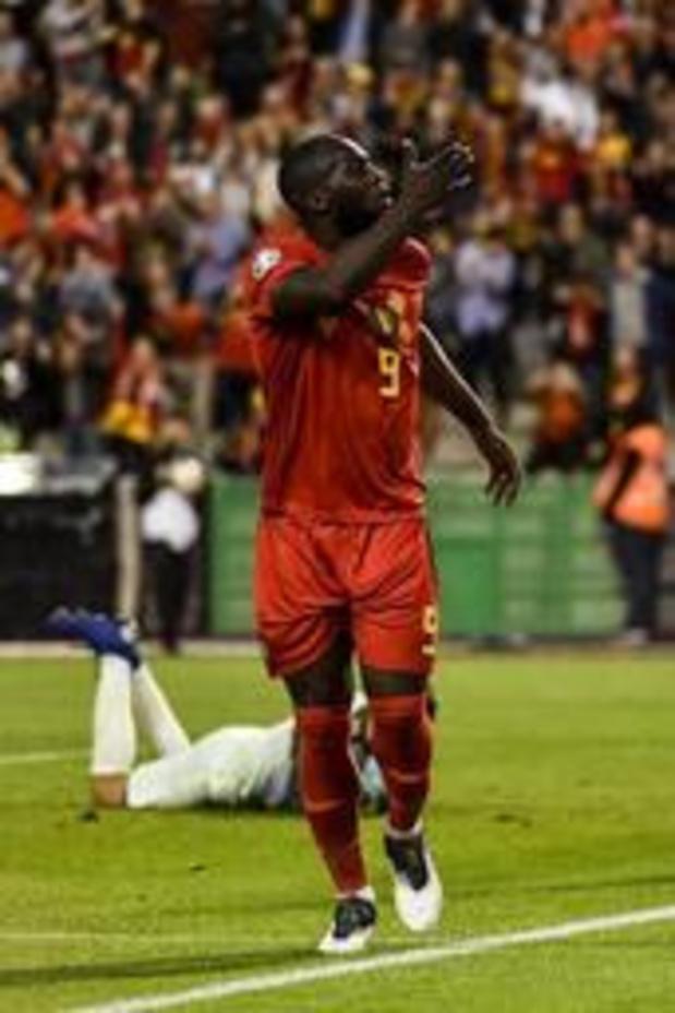 """Diables Rouges - """"Il fallait trouver la petite faille dans la défense écossaise"""", explique Romelu Lukaku"""