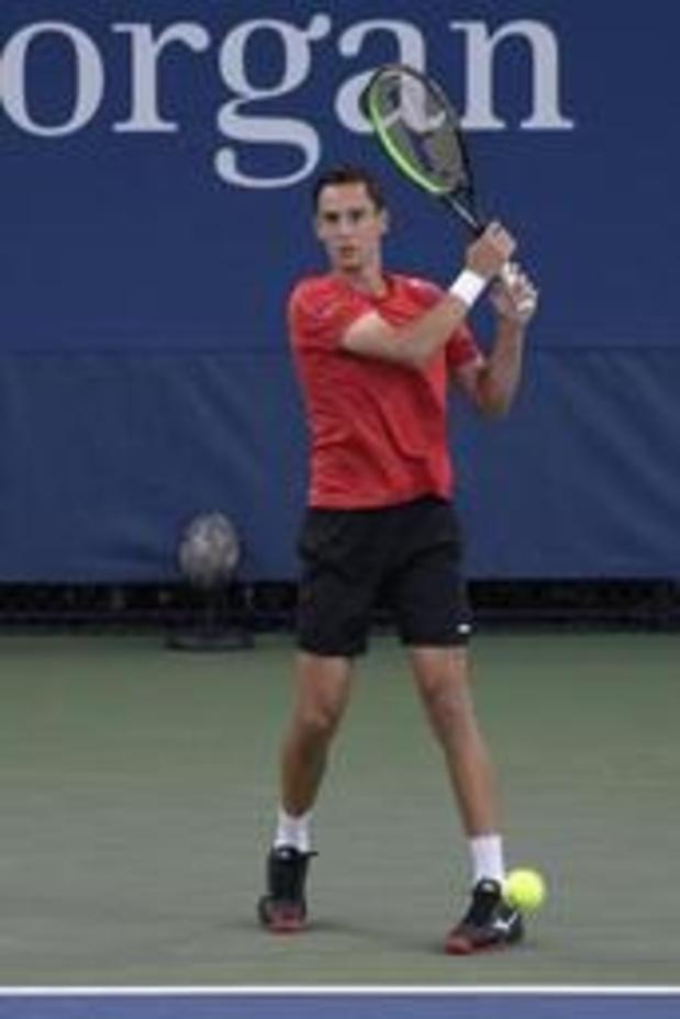 US Open - Joran Vliegen éliminé au premier tour du double mixte à New York