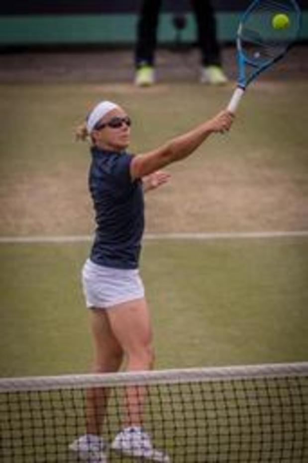 "WTA Rosmalen - Kirsten Flipkens, qui a battu Tsurenko: ""Ce fut comme les montagnes russes"""