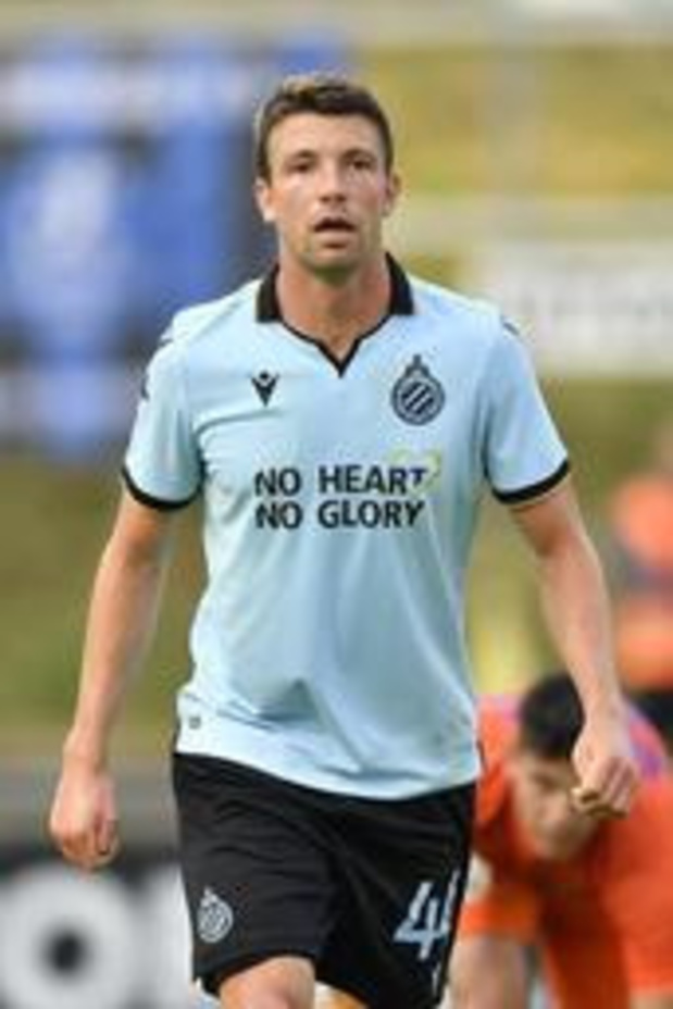 Le Club Bruges bat l'Union 3-2 en match de préparation