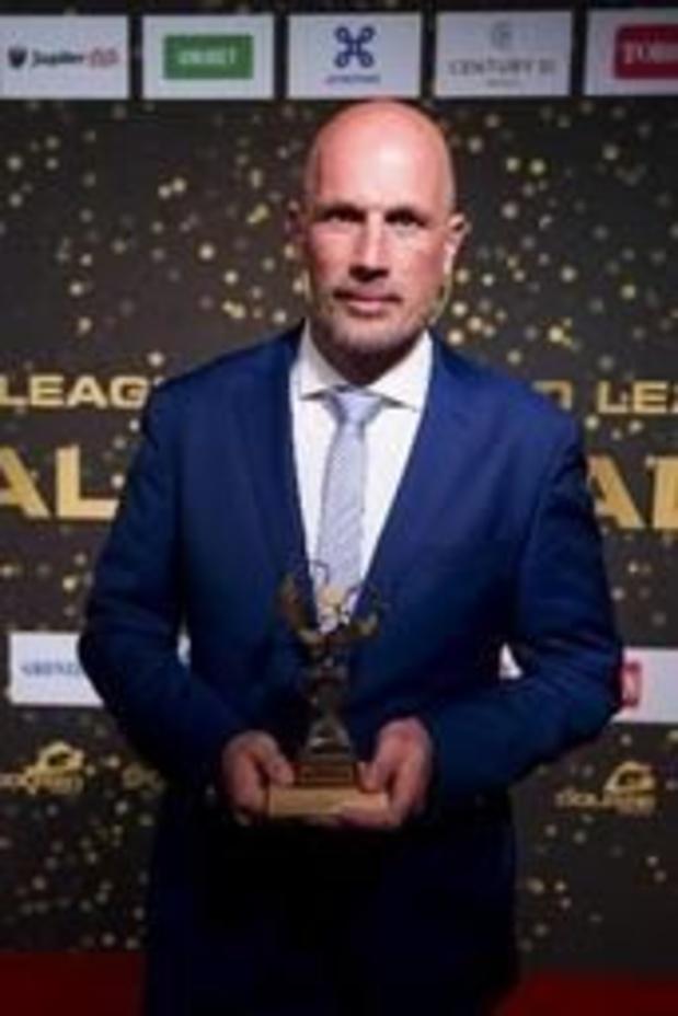 Pro League Gala - Trainer van het Jaar Philippe Clement prijst het Genkse collectief