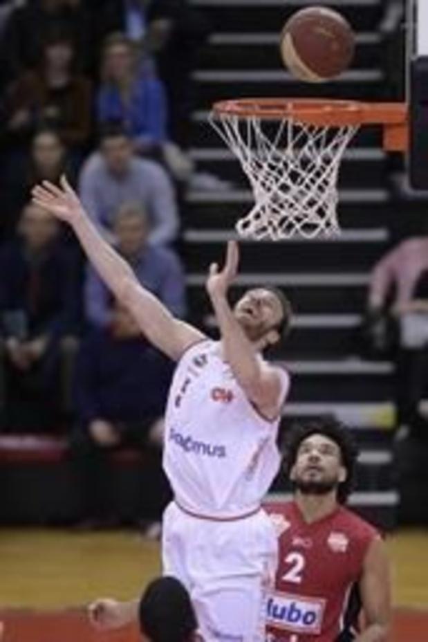 EuroMillions Basket League - Charleroi domine Louvain et conforte sa 3e place