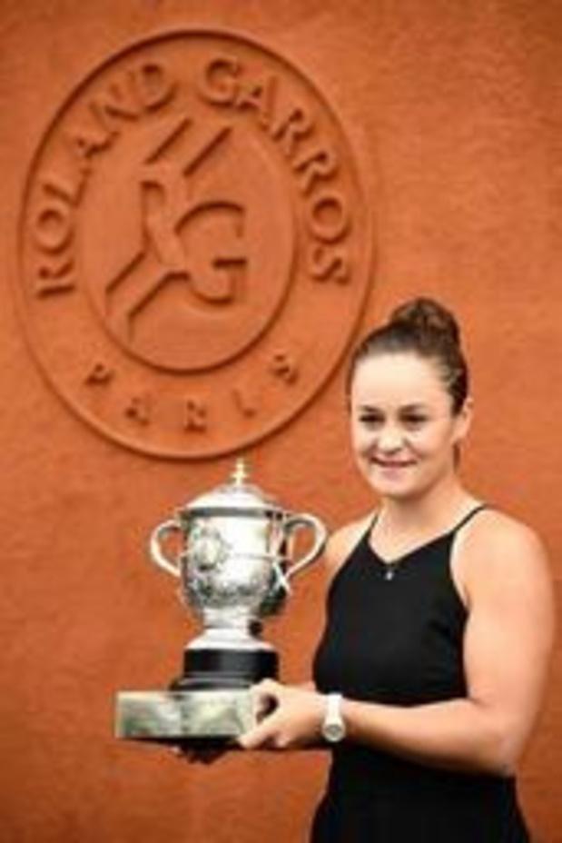 Ashleigh Barty klimt na triomf in Parijs naar tweede plaats op WTA-ranking