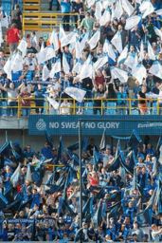 Jupiler Pro League - BAS beoordeelt antisemitische gezangen van Club-supporters als beledigend