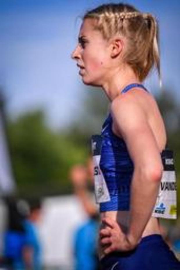 Nuit de l'athlétisme - Manque de fraîcheur pour Elise Vanderelst sur le 1.500m d'Heusden