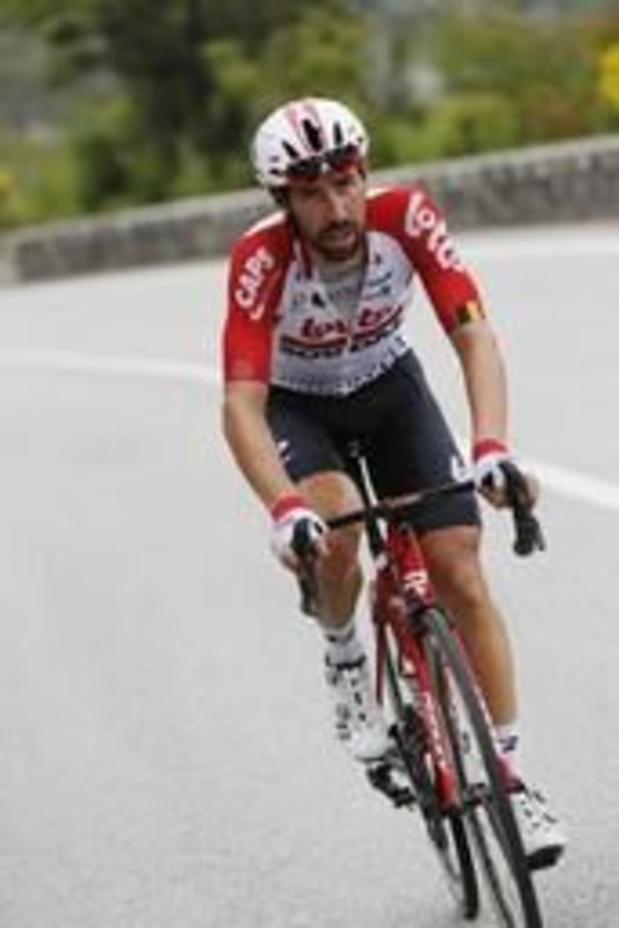 """Giro - Laconieke Thomas De Gendt: """"Ik zat vooraan een beetje voor Piet Snot"""""""