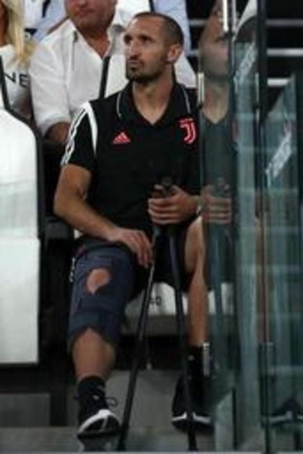 Serie A - Giorgio Chiellini (Juventus) opéré avec succès au genou droit, absent six mois