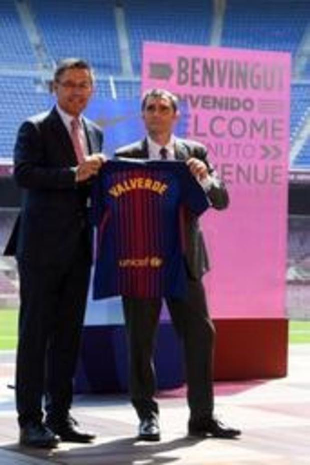 Copa del Rey - Barcelonavoorzitter Bartomeu behoudt vertrouwen in coach Valverde