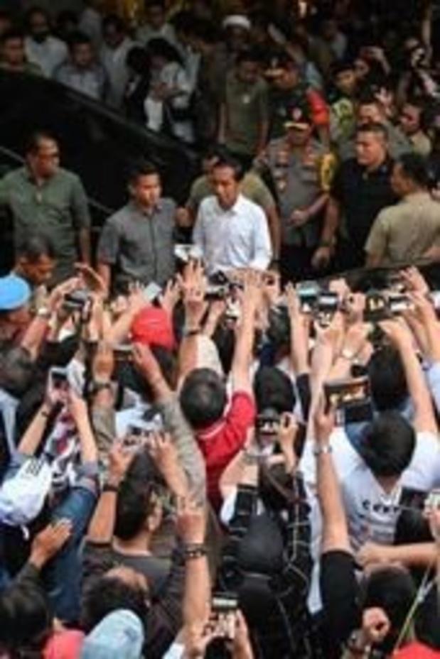 Election présidentielle en Indonésie - Le président sortant Joko Widodo en tête de décomptes préliminaires