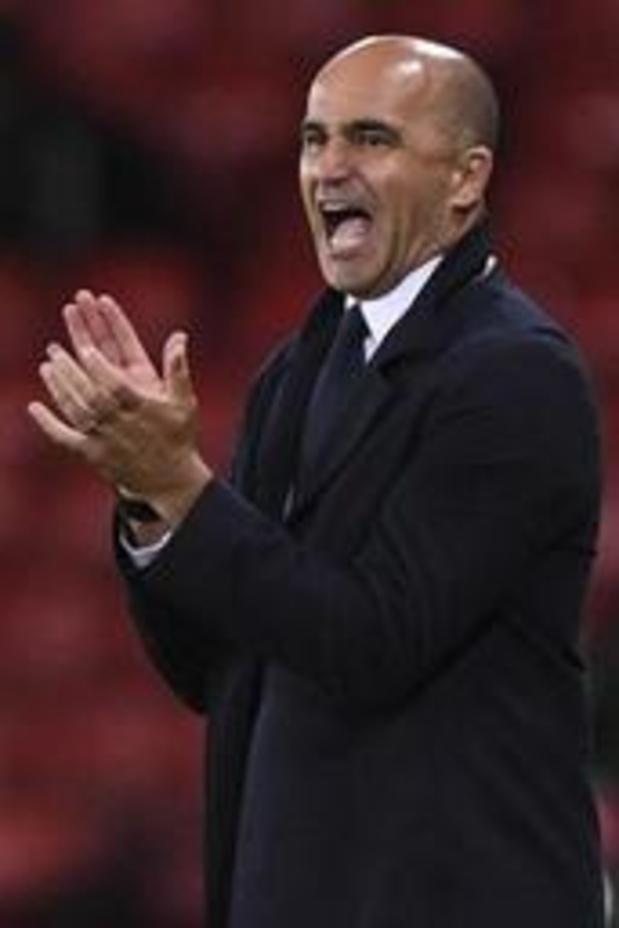 Diables Rouges - Roberto Martinez très content de la manière, l'Ecosse garde la tête basse