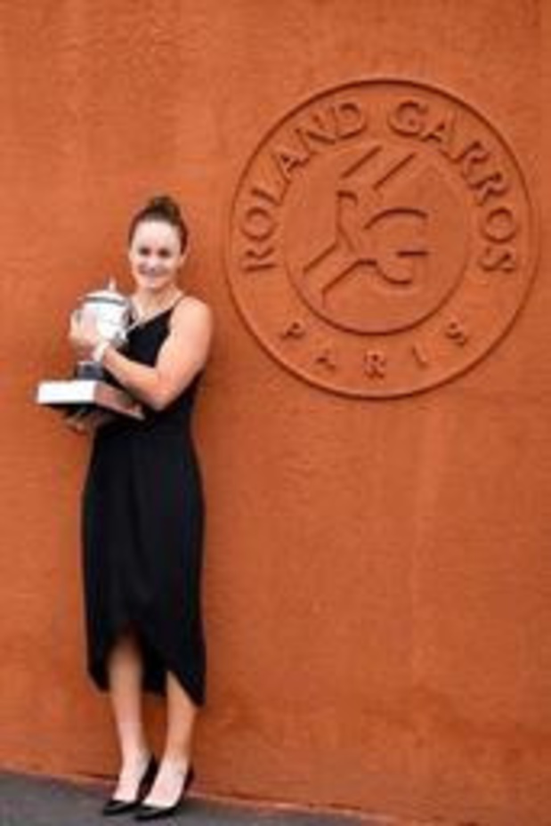 Classement WTA - Ashleigh Barty, lauréate à Roland-Garros, grimpe à la 2e place, Mertens perd un rang