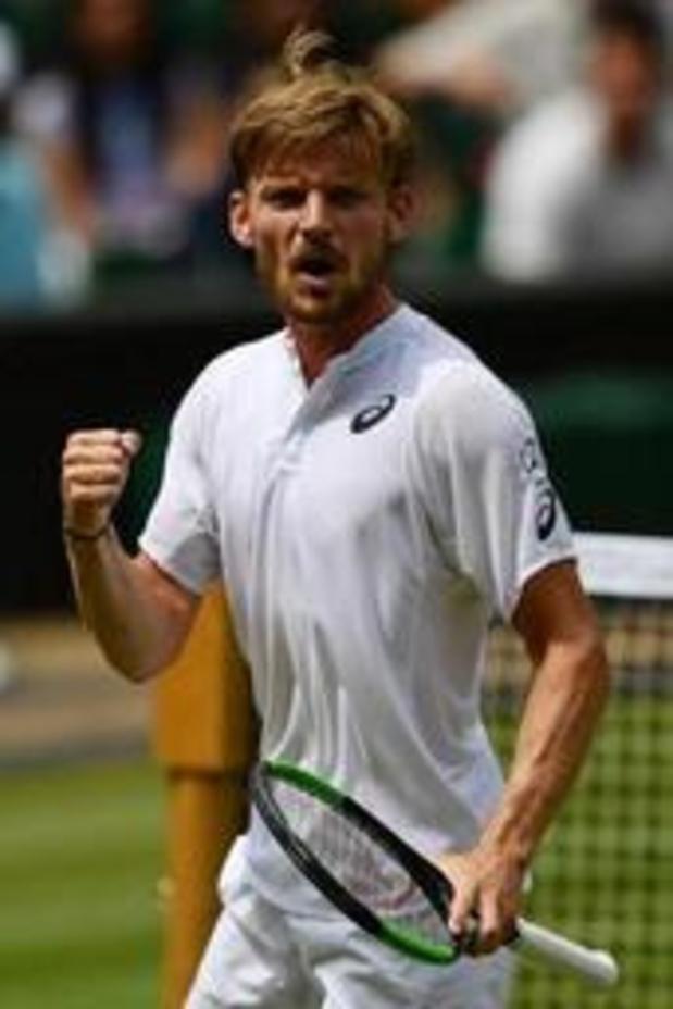 ATP Cincinnati - David Goffin en demi-finales sans jouer, où il affrontera le Français Richard Gasquet