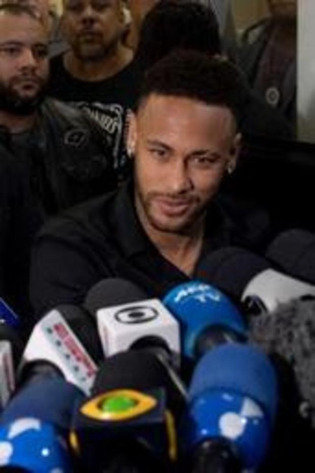 La plainte pour viol contre Neymar classée sans suite au Brésil