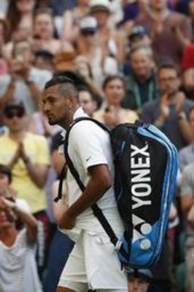 ATP Cincinnati - Nick Kyrgios écope de 100.000 euros d'amende pour mauvais comportement à Cincinnati