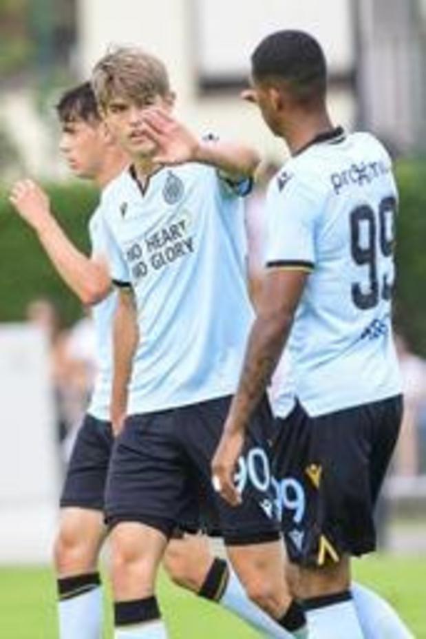 Jupiler Pro League - Club Brugge start voorbereiding met 1-9 zege bij KFC Heist