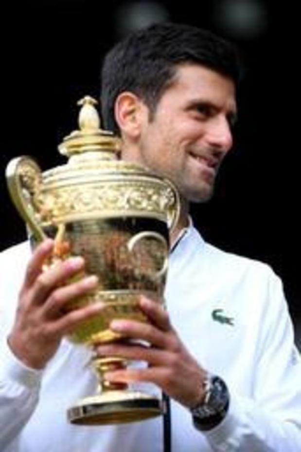 Wimbledon - Ce fut le match mentalement le plus exigeant de sa vie, a estimé Novak Djokovic