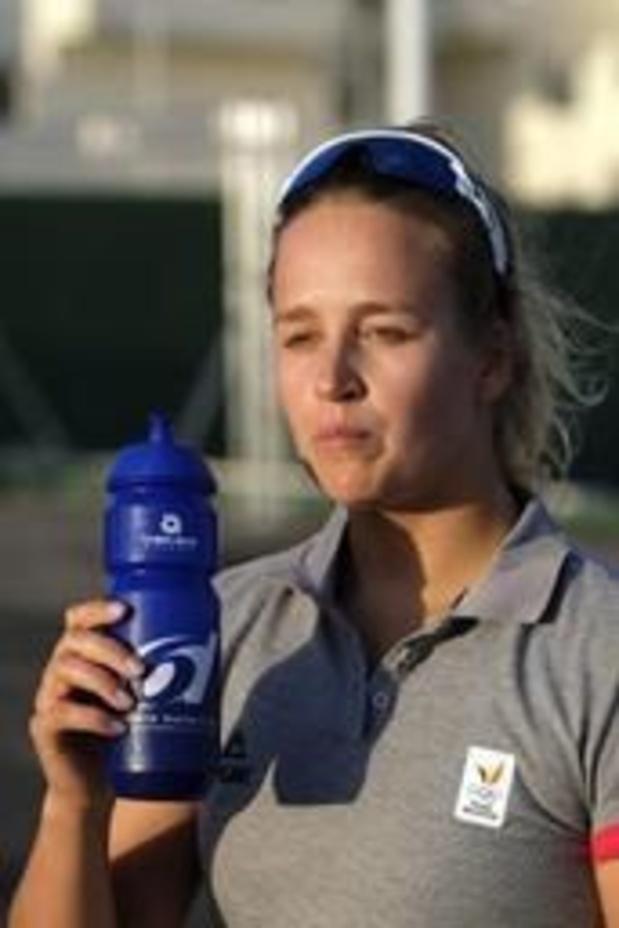 La Semaine Olympique Française - Emma Plasschaert start als derde aan medaillerace