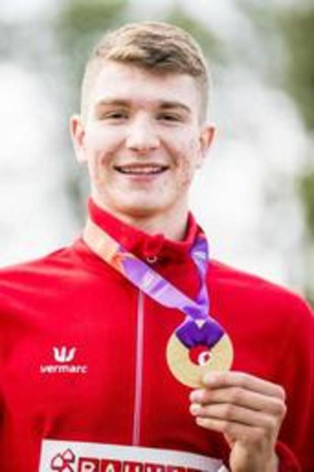 """Euro juniors d'athlétisme - Thomas Carmoy, champion d'Europe U20 à la hauteur: """"je me suis fait plaisir"""""""