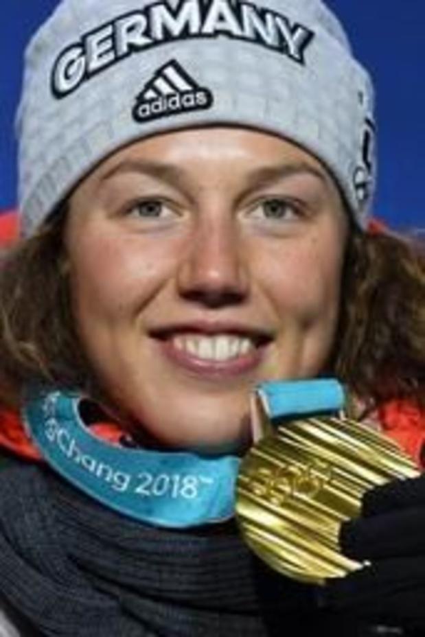 La reine du biathlon Laura Dahlmeier arrête sa carrière à 25 ans