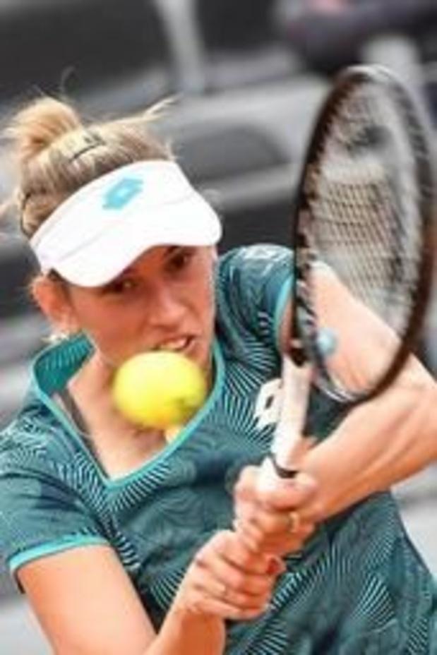 Elise Mertens face à la Slovène Tamara Zidansek en ouverture à Roland-Garros