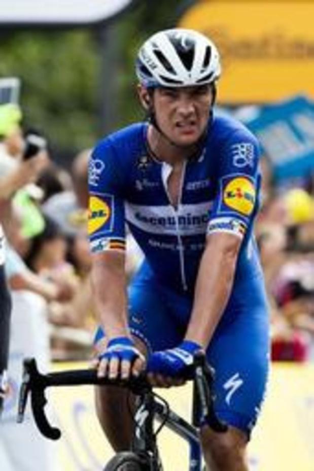 """Tour de France - """"Nous nous sommes trop vite retrouvés à six"""", regrette Yves Lampaert"""