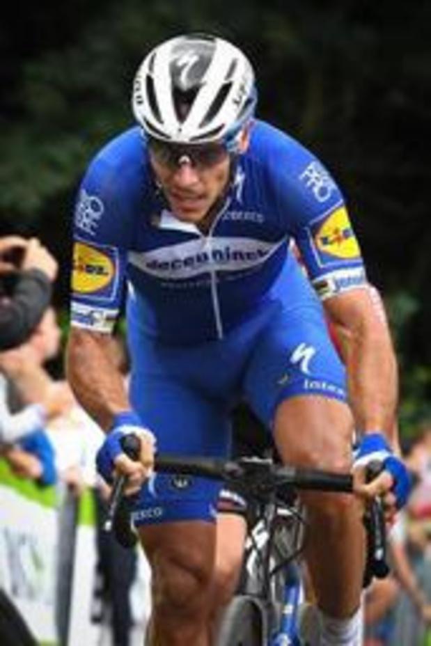 Deceuninck-Quick Step avec Philippe Gilbert à la Vuelta pour gagner des étapes
