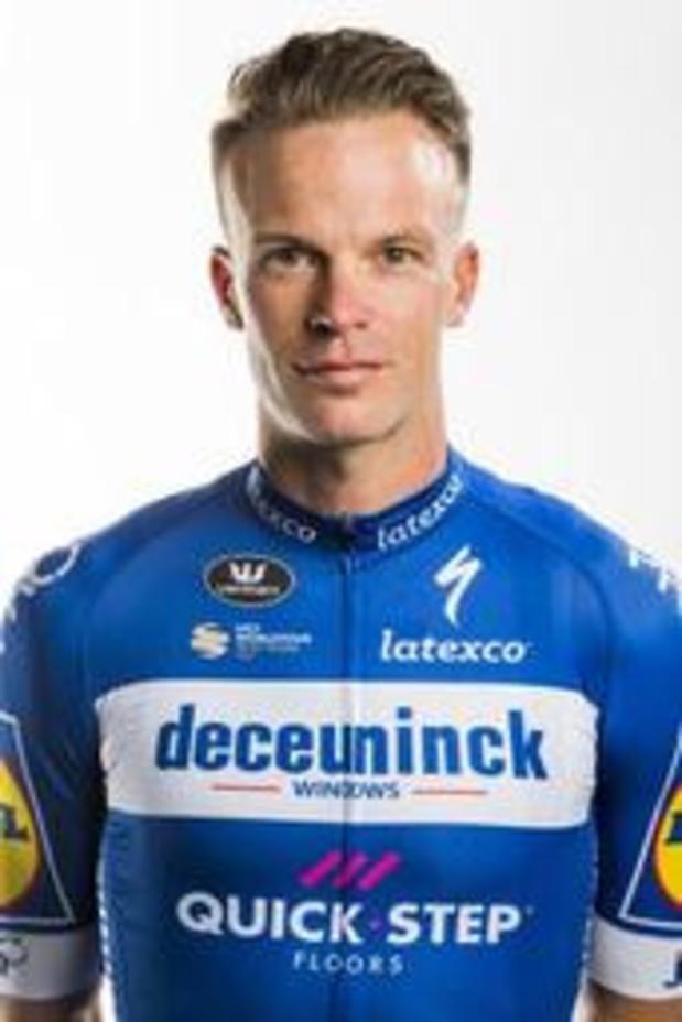 Iljo Keisse fietst ook in 2020 voor Deceuninck-Quick.Step