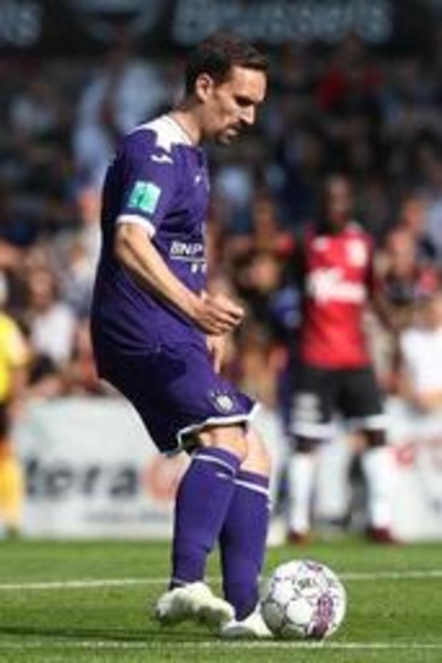Anderlecht s'incline 1-2 en amical contre le Fortuna Düsseldorf