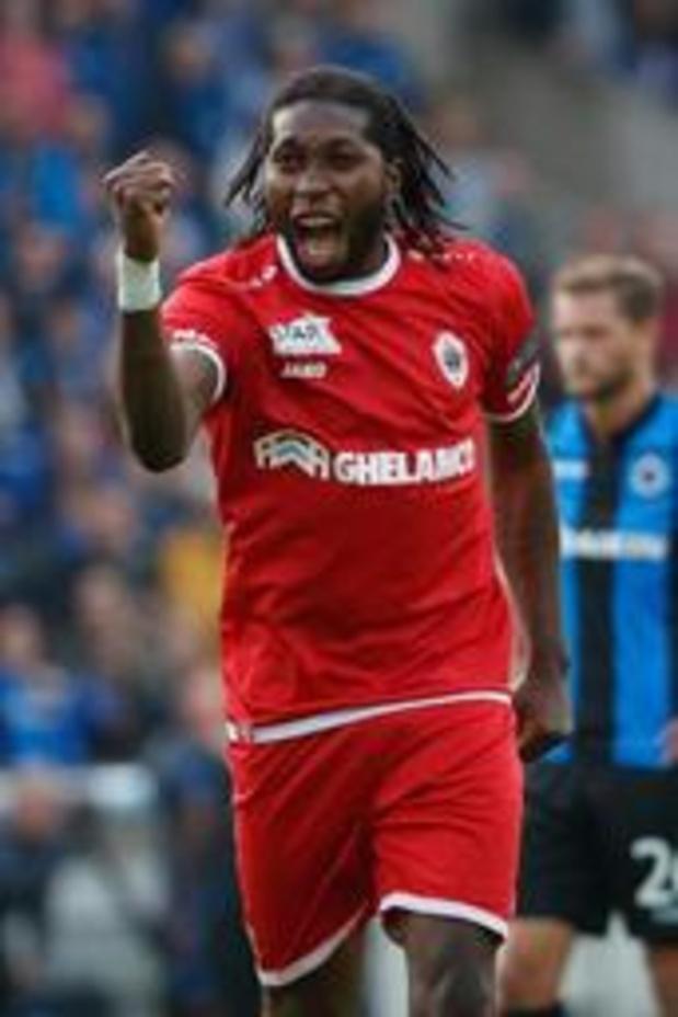Dieumerci Mbokani se lie jusqu'en 2020 avec l'Antwerp