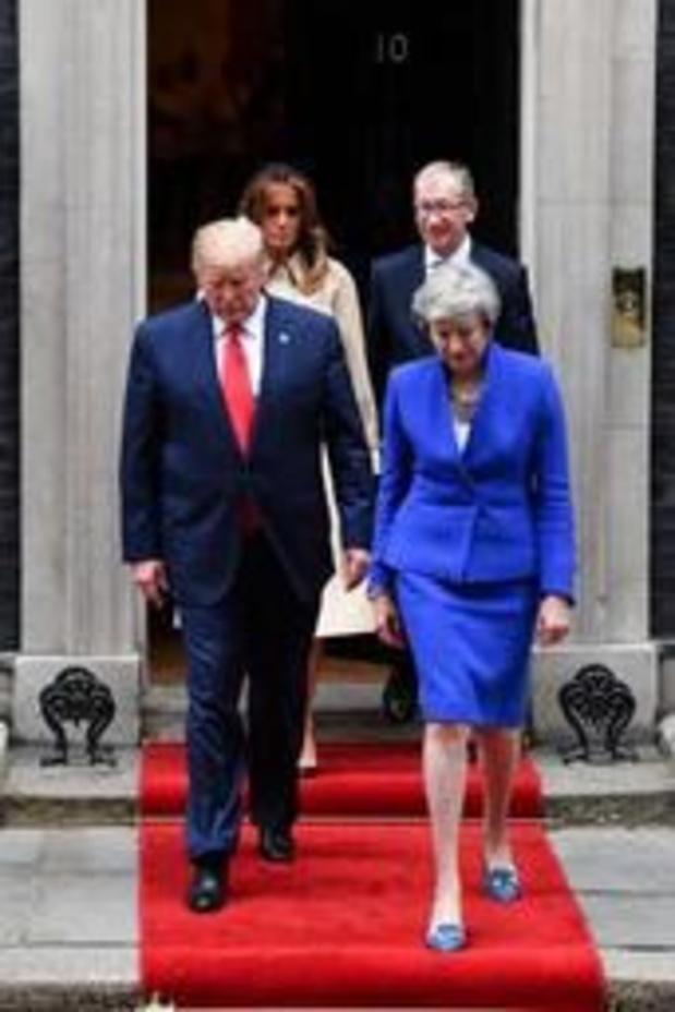 "Trump gelooft in ""fenomenaal"" handelsakkoord met Groot-Brittannië"