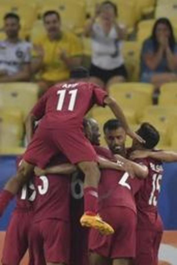 Copa America - Le Qatar remonte deux buts et s'offre un partage face au Paraguay