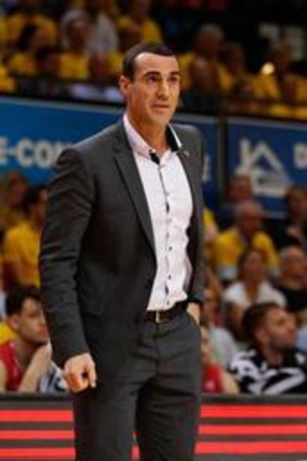 Roel Moors quitte Anvers, Christophe Beghin nouveau coach du vice-champion de Belgique