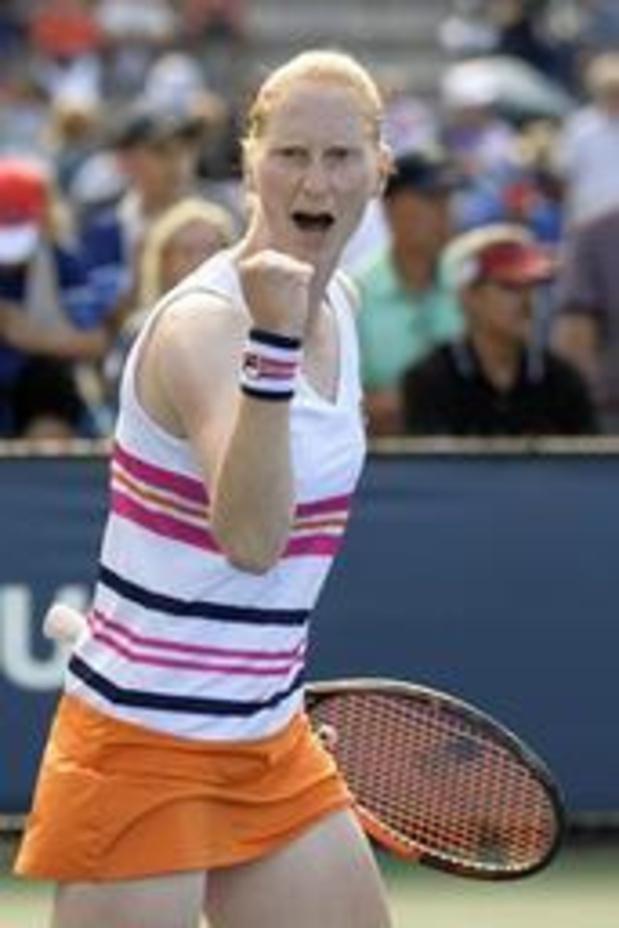 US Open - Alison Van Uytvanck se qualifie pour le deuxième tour