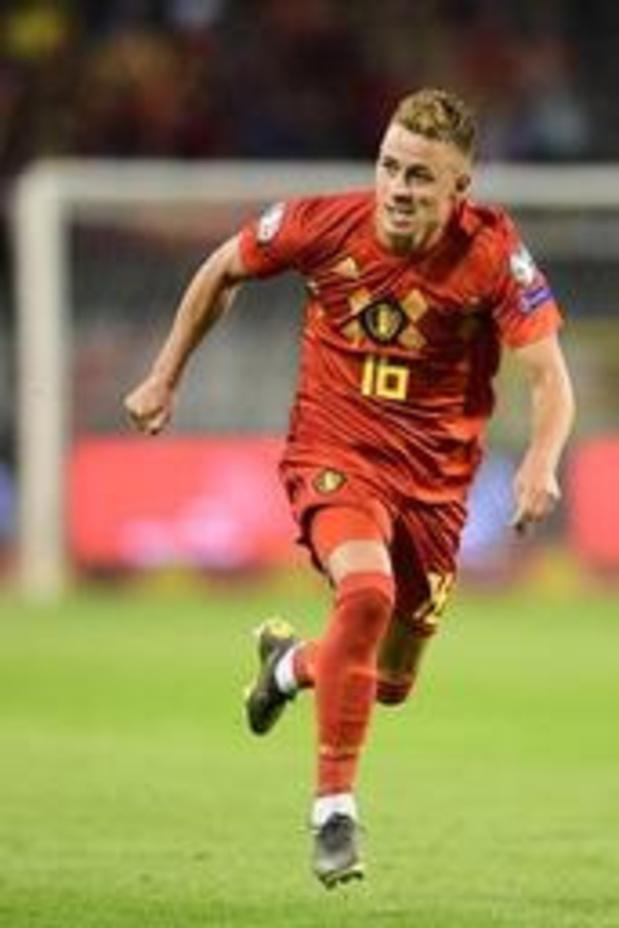 Thorgan Hazard ontbreekt bij Dortmund op training