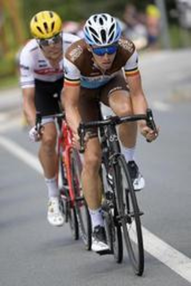 Tour de France - 9e étape - Le plan de faire gagner un Belge n'a pas fonctionné reconnaît Oliver Naesen