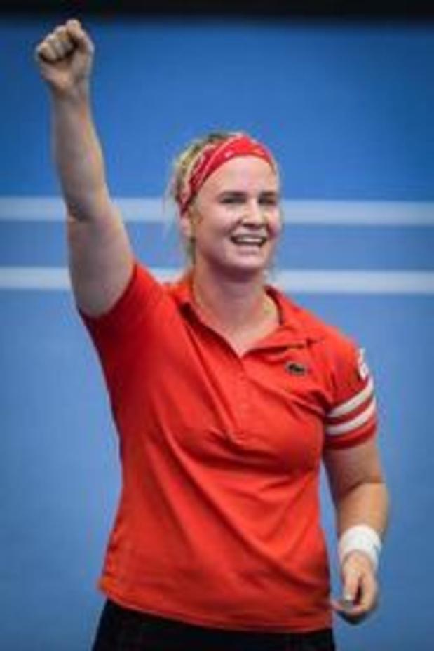 Ysaline Bonaventure haalt voor het eerst hoofdtabel Wimbledon