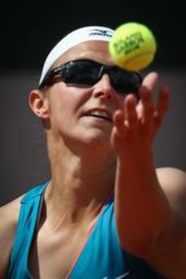 Kirsten Flipkens en quarts de finale du double à Eastbourne