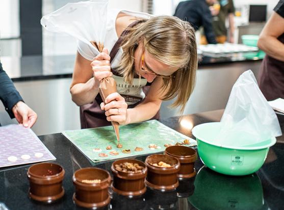 Ouverture d'une Chocolate Academy à Anvers